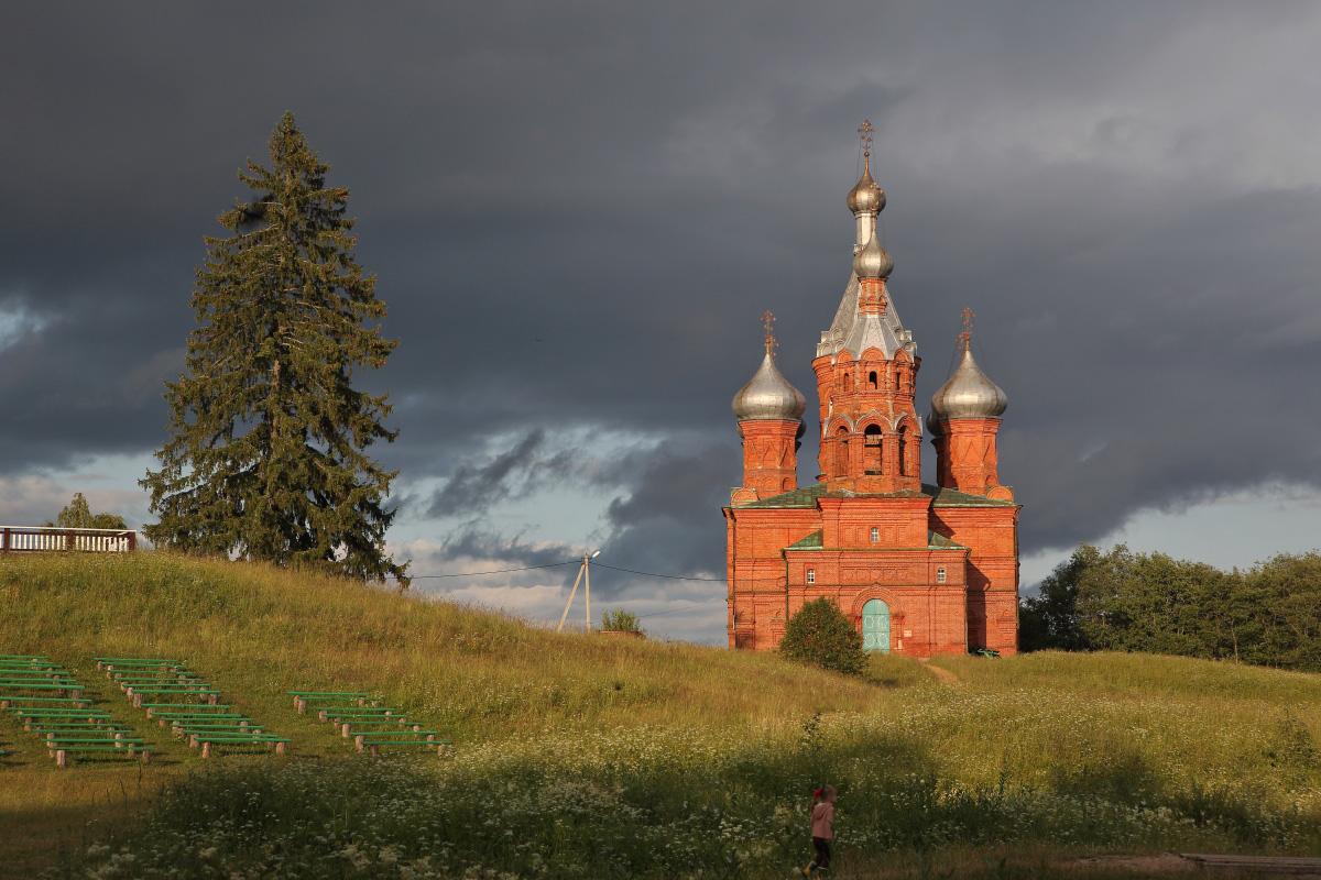 Преображенский собор на истоке Волги