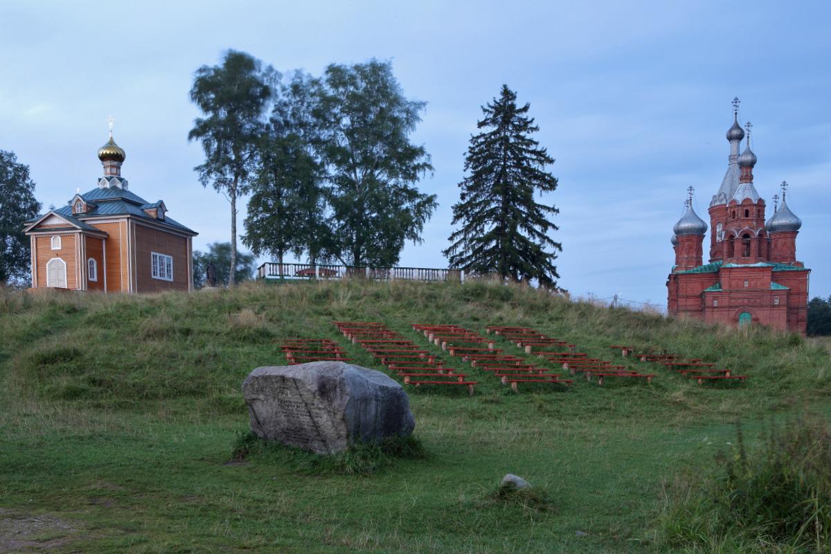 Церкви на истоке Волги Волговерховье