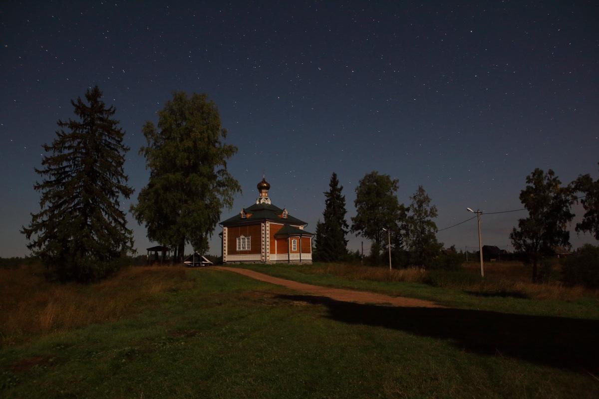 Церковь Николая Чудотворца на истоке Волги