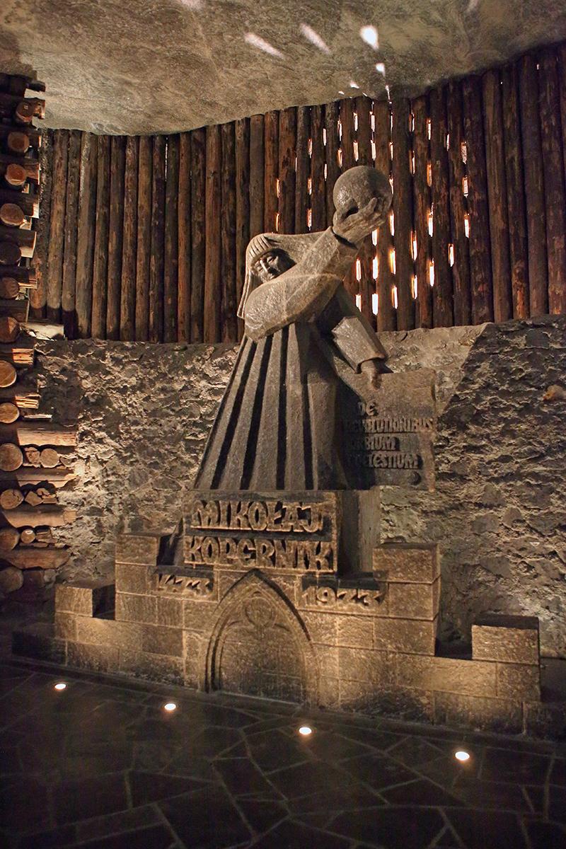 соляная скульптура Коперника